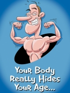 YOUR BODY REALLY HIDES YOUR AGE