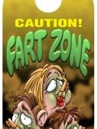 Caution!  Fart zone