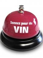 Cloche de table - Sonnez pour du vin