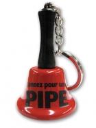 Porte-clés clochette - Pipe