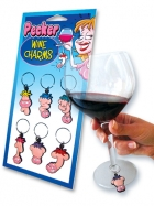 Pecker Wine Charms