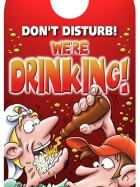 Don't disturb!  We're drinking!