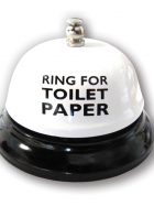Ring for Toilet Paper - Table Bell