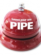 Cloche de table - Sonnez pour une pipe