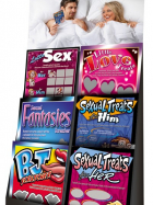 Scratchcard for adults displayer