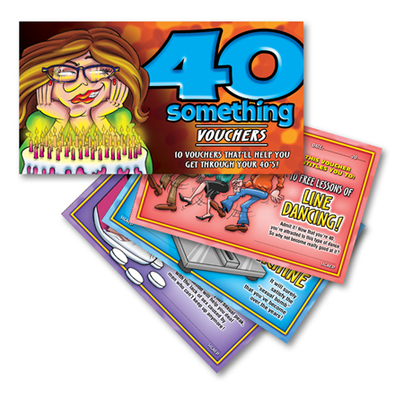 40 something vouchers for her